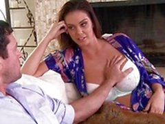 Tit fucking babe Alison Tyler cheats with her friends man