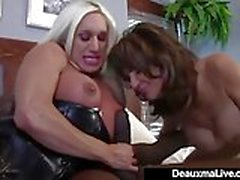 Hot Housewife Shanda Fay Creams Pussy While Deep Throating!