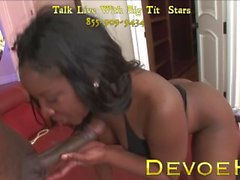 Hot Ebony MILF Gets Anal Pounding