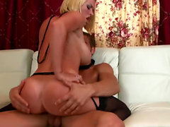 Big tit blonde Krissy Lynn makes Fantasy Becomes