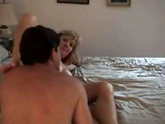 Mature amateur wife homemade threesome