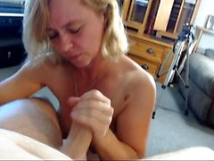 Hot blonde with big pierced boobs fucked on homemade POV