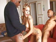 Randy Blonde Milf Screwed By Bbc In Threeway