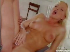 Hot Silvia Saint Suck and fuck that dude in this hot video