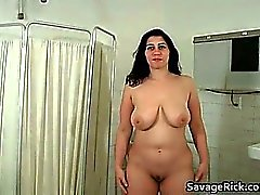 Hot sexy big boobed busty babe gets part6