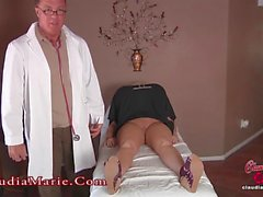Claudia Marie Huge Fake Implants Cut Out!!!