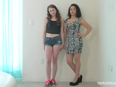 2 best friends in 1 nvg calendar audition