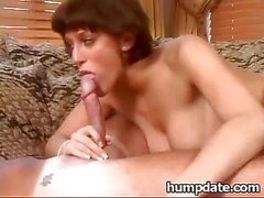 Eve Laurence gets fucked & covered with jizz