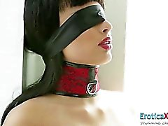 Lovely Asian bondaged