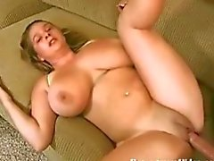 Amateur Gets Her Titties Fucked