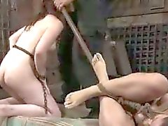 Hard tied bdsm: sasha meets hazel hypnotic