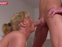 German Husband Shared By Horny Milfs