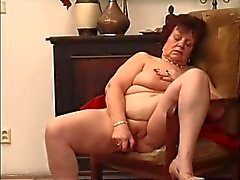 EuroMature Strip and Masturbate 02 of 02