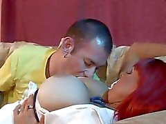 Red-haired nurse Whitney Wonders serves up her knockers and her quim