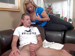 Stepmom & Stepson Affair 70 (Mommy Caught Me Jerking)