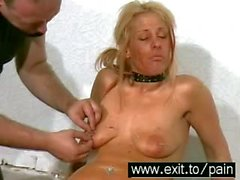 Pins and Needle BDSM with extreme pained sub