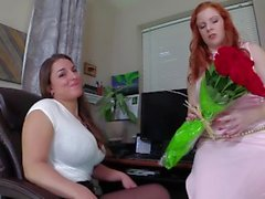 Secretaries Ruin Your Valentine's Day Lady Fyre & Mallory Sierra