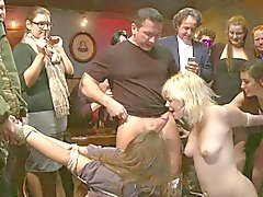 Bdsm party of humiliation