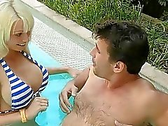 Honey delights a thick male rod with sucking