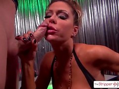 Jessica Jaymes giving the best blowjob of your life - Stripper Experience