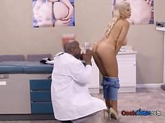 Luscious Patient Bridgette B Gets Naked For Doctor