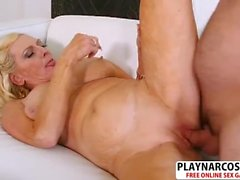 Salacious Milf Layla Rose Gives Blowjob Sweet Teen Son's Friend
