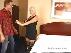 Claudia Marie Big Tit babe cheats on husband