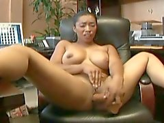 Horny babes get some from the producer's rod