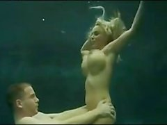 Holly Halston underwater
