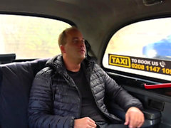 Female Fake Taxi Steamy cab fuck as wet pussy licked