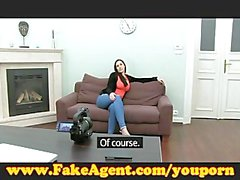 Fake Agent a big ass English amateur just wants to fuck!