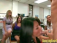 Real Office Blowbang Party With Strippers
