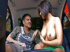 Car fucking Vanessa Leon needs pleasure