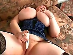 Cute bbw with huge tits