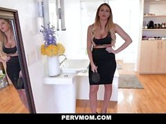 PervMom - Stepson Doggystyles Brooklyn Chase