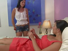 Andy San Dimas and Jelena Jensen Lesbian Orgasms