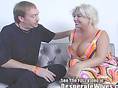 Big Titty Blonde Milf Claudia-Marie is Slutwife Trained By Dirty D