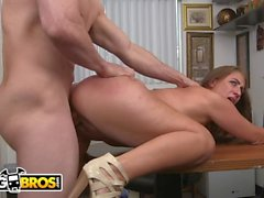 BANGBROS - Busty Big Butt Freak Skyler Luv Gets Broken In During Casting