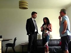 PASCALSSUBSLUTS - Nasty British MILF gets her holes slammed