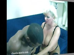 Huge Saggy Tits Claudia Marie Takes Several BBC's