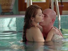 Relaxxxed - Horny Lana and Leny Evil fuck in the pool